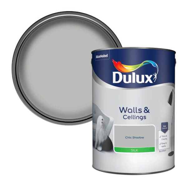 Dulux Standard Chic Shadow Silk Emulsion Paint - 5L