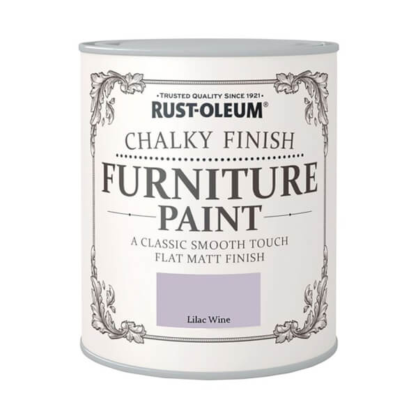 Rust-Oleum Chalky Furniture Paint - Lilac Wine - 125ml