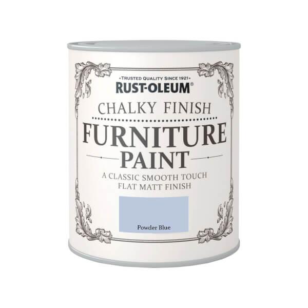 Rust-Oleum Chalky Furniture Paint - Powder Blue - 750ml