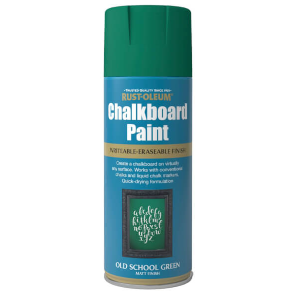Rust-Oleum Spray Paint Chalkboard Old School Green - 400ml