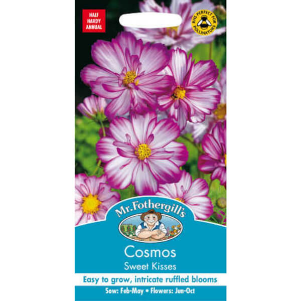 Mr. Fothergill's Cosmos Sweet Kisses Seeds