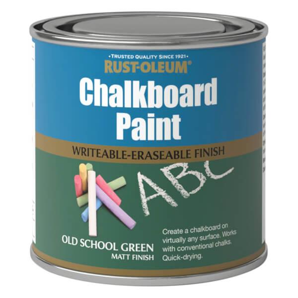 Rust-Oleum Chalkboard Old School Green Paint - 250ml