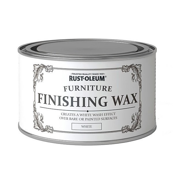 Rust-Oleum Furniture Finishing Wax White - 400ml