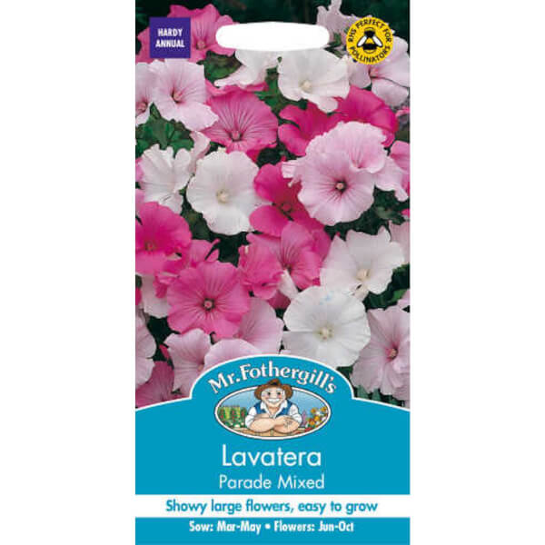 Mr. Fothergill's Lavatera Parade Mixed Seeds