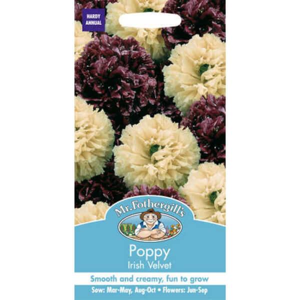 Mr. Fothergill's Poppy Irish Velvet Seeds