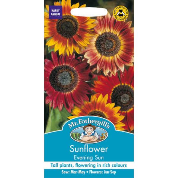 Mr. Fothergill's Sunflower Evening Sun Seeds