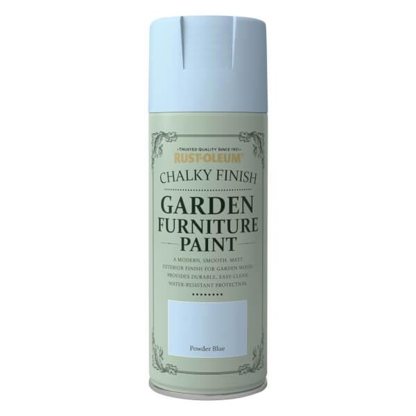 Rust-Oleum Garden Furniture Spray Paint Powder Blue - 400ml