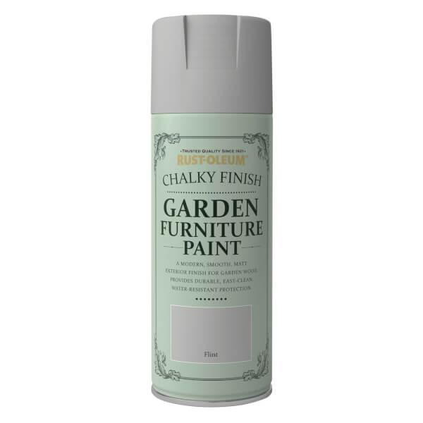 Rust-Oleum Garden Furniture Spray Paint Flint - 400ml
