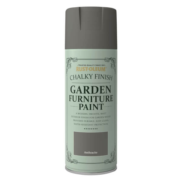 Rust-Oleum Garden Furniture Spray Paint Anthracite - 400ml