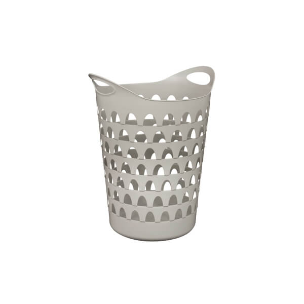 Tall Flexi Laundry Basket - Slate Grey