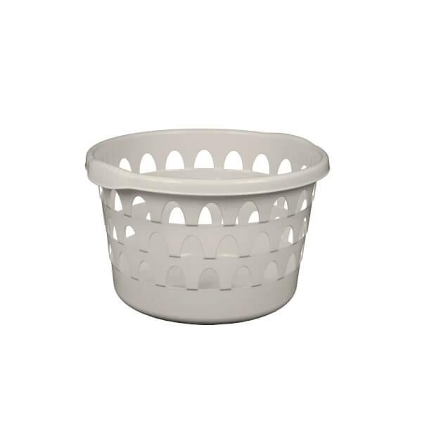 Round Laundry Basket - Slate Grey