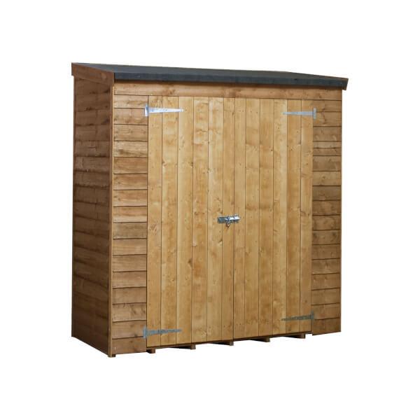 6x3ft Mercia Overlap Pent Storage