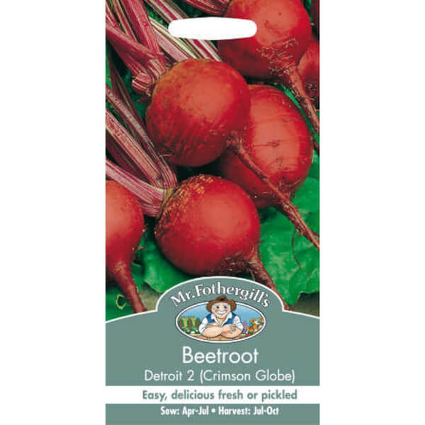 Beetroot Detroit 2 Crimson Globe Seeds