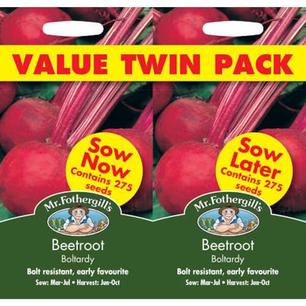 Mr. Fothergill's Beetroot Boltardy Bumper Pack Seeds