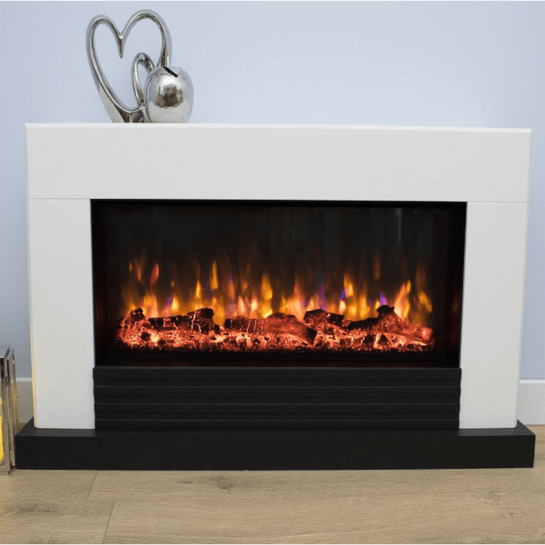 Suncrest Raby Electric Fireplace Suite