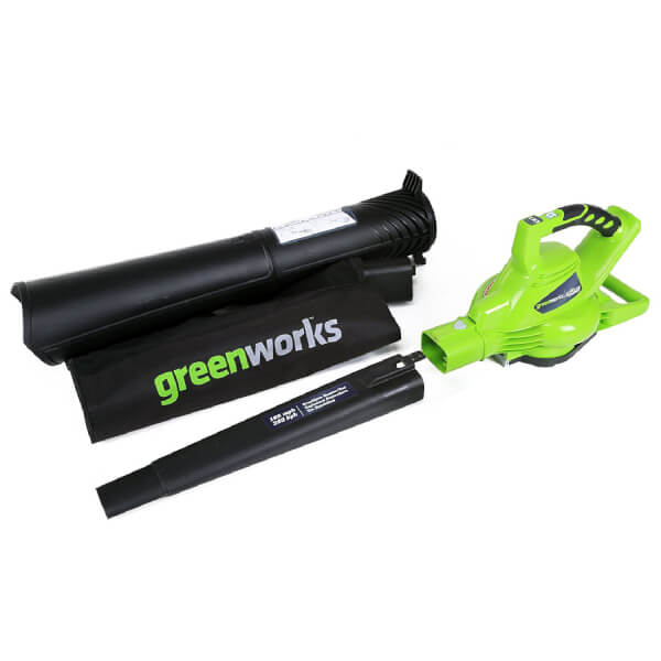 Greenworks 40V Cordless Garden Leaf Blower and Vacuum (tool only)