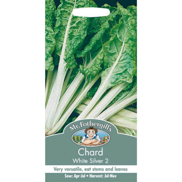 Mr. Fothergill's Chard White Silver 2 Seeds