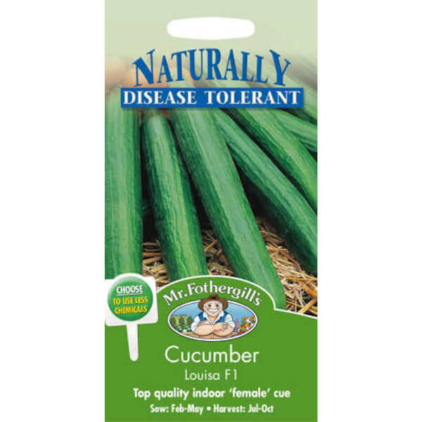 Mr. Fothergill's Cucumber Louisa F1 Vegetable Seeds