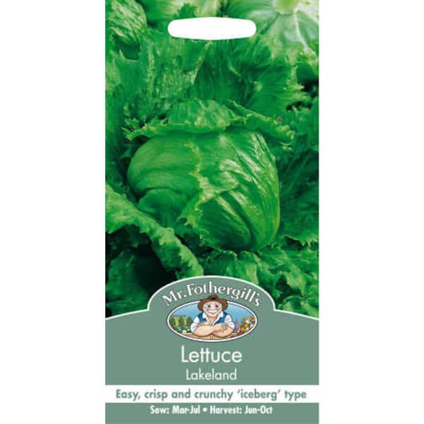 Mr. Fothergill's Lettuce Lakeland Seeds