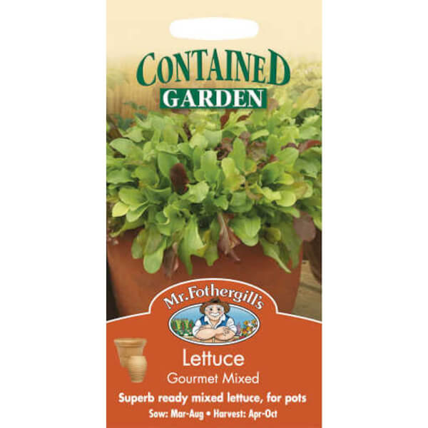 Mr. Fothergill's Lettuce Gourmet Mixed Vegetable Seeds