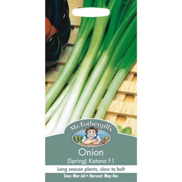 Onion Spring Katana F1 Seeds