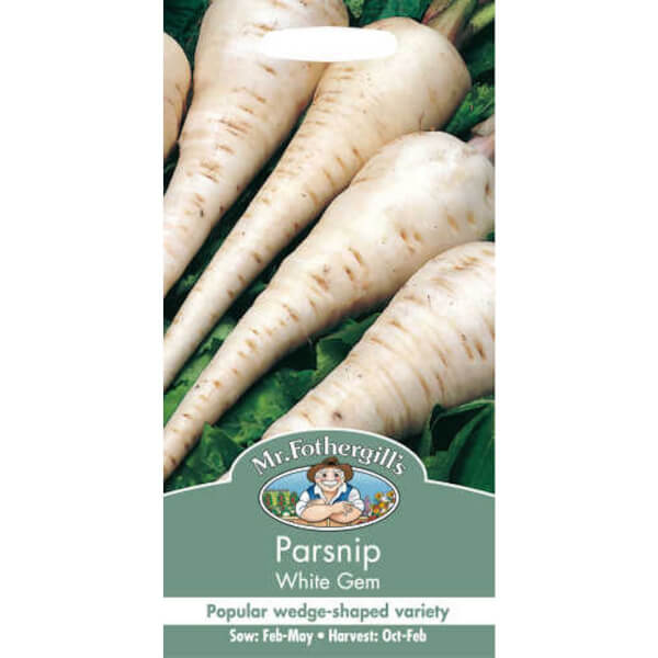 Parsnip White Gem Vegetable Seeds