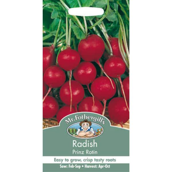 Mr. Fothergill's Radish Prinz Rotin Seeds