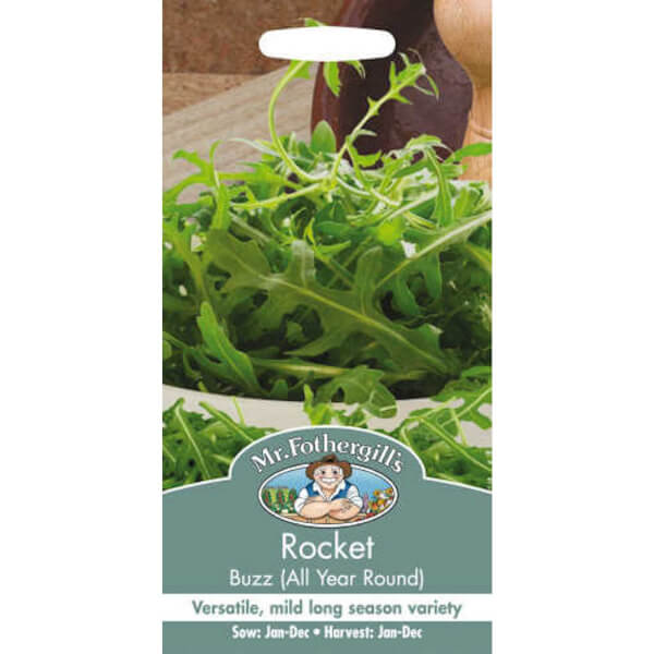 Mr. Fothergill's Rocket Buzz (All Year Round) Vegetable Seeds