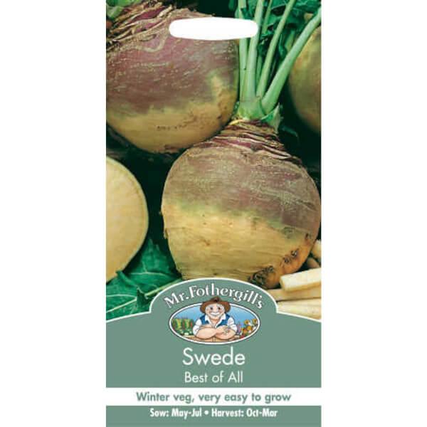 Mr. Fothergill's Swede Best Of All Vegetable Seeds