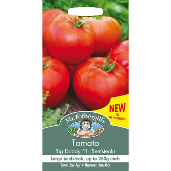 Mr. Fothergill's Tomato Big Daddy F1 Fruit Seeds