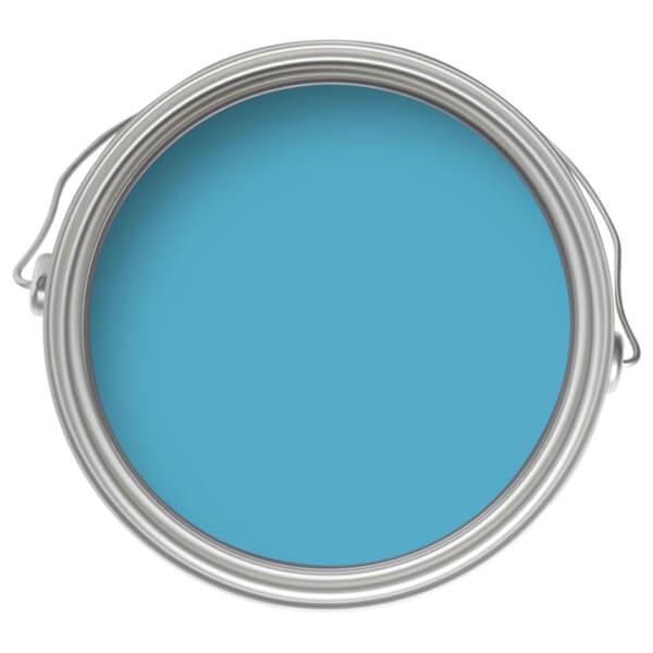 Farrow & Ball Modern Eggshell Midsheen Paint St Giles Blue No.280 - 750ml
