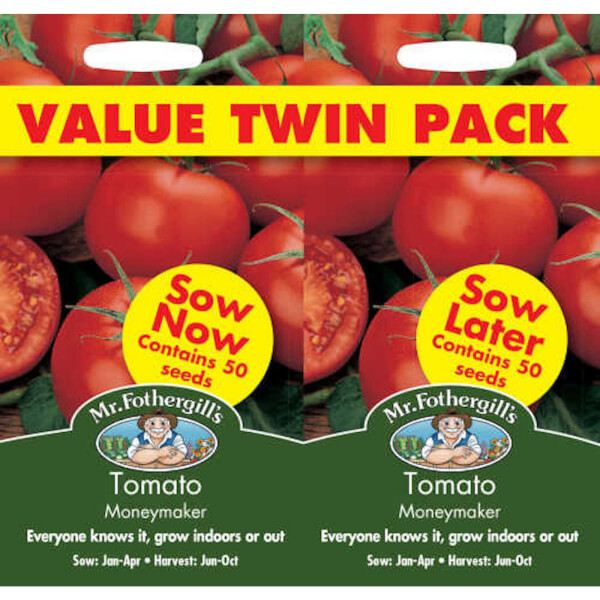 Tomato Moneymaker Bumper Pack Fruit Seeds