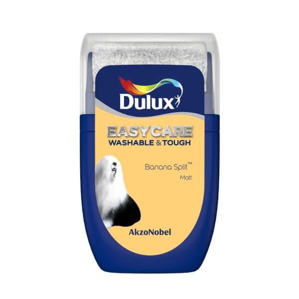 Dulux Easycare Washable & Tough Banana Split Tester Paint - 30ml