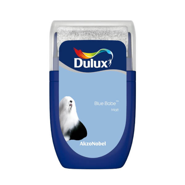 Dulux Standard Blue Babe Tester Paint - 30ml