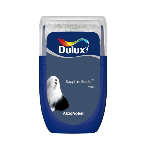 Dulux Standard Sapphire Salute Tester Paint - 30ml