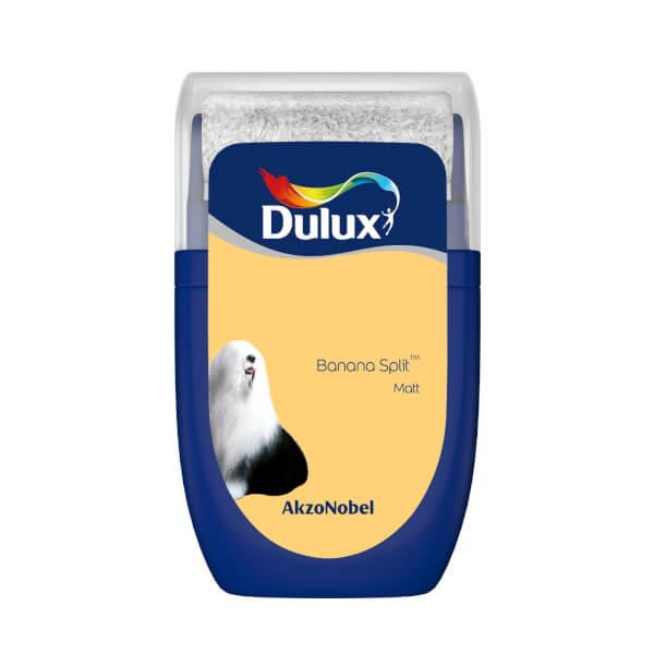 Dulux Standard Banana Split Tester Paint - 30ml