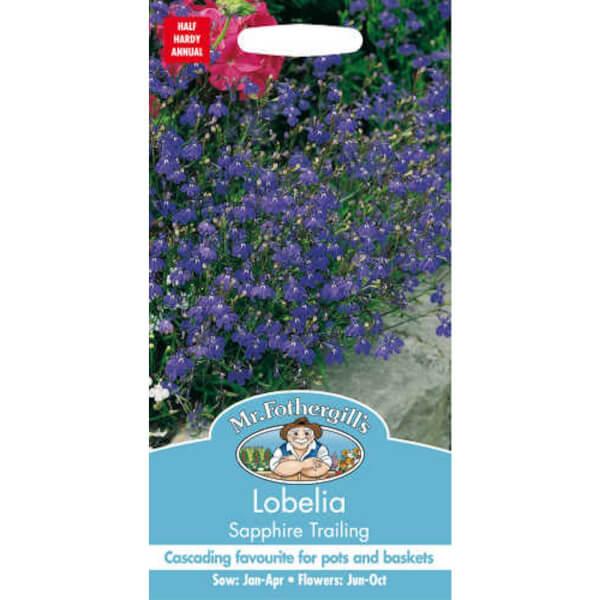 Lobelia Sapphire Trailing (Lobelia Erinus) Seeds