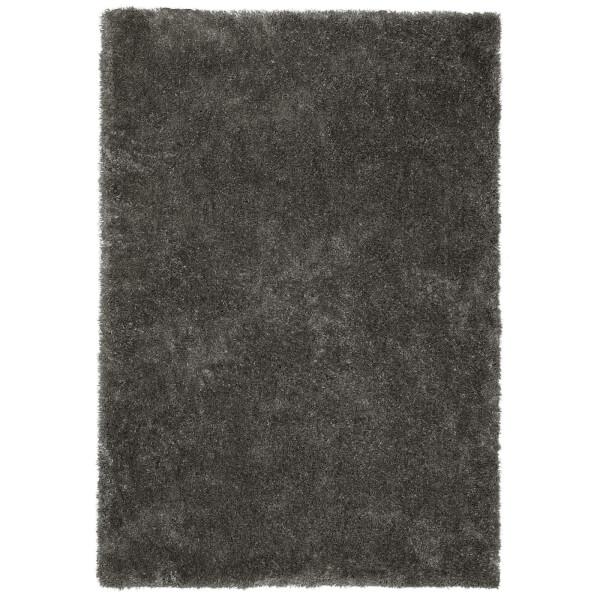 Isabella Shaggy Rug 120x170cm Grey