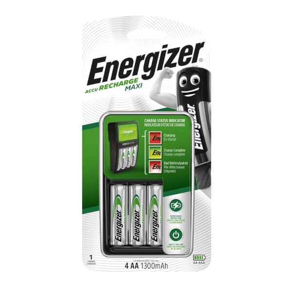 Energizer NiMH Recharge Maxi Charger