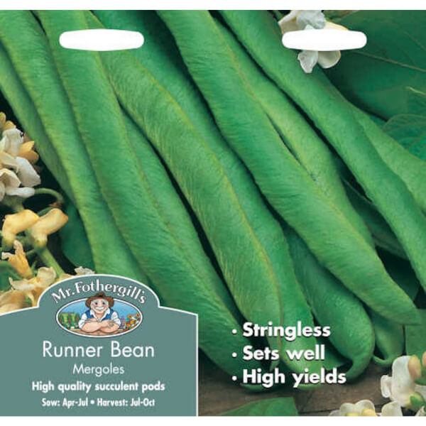 Mr. Fothergill's Runner Bean Mergoles Seeds
