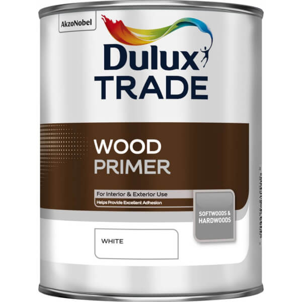 Dulux Traditional Quick Dry Wood Primer Undercoat - 1L