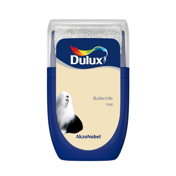 Dulux Standard Buttermilk Tester Paint - 30ml