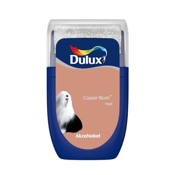 Dulux Standard Copper Blush Tester Paint - 30ml