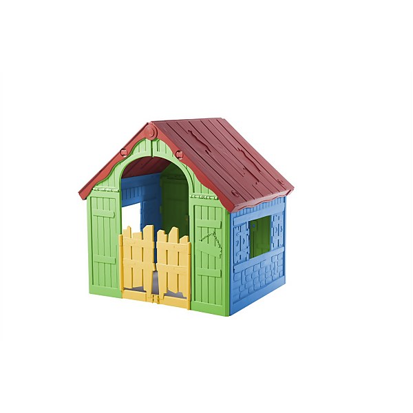 Keter Wonderfold Kids  Portable Indoor / Outdoor Foldable Playhouse - Multi colour