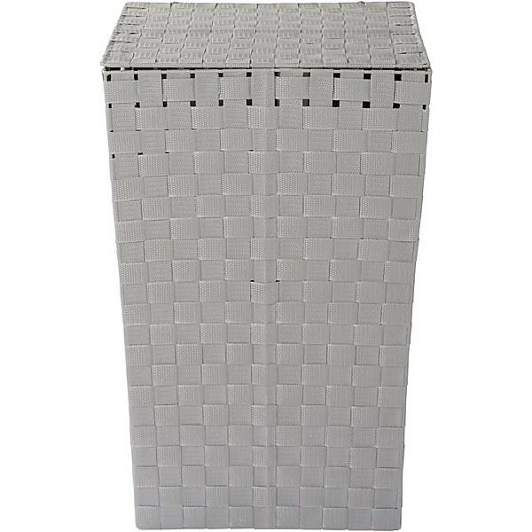 Nylon Laundry Basket - Grey