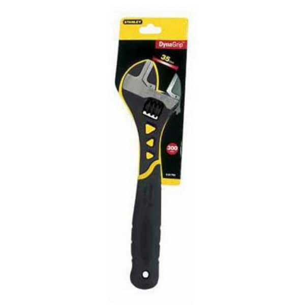 Stanley DynaGrip Adjustable Wrench - 203mm
