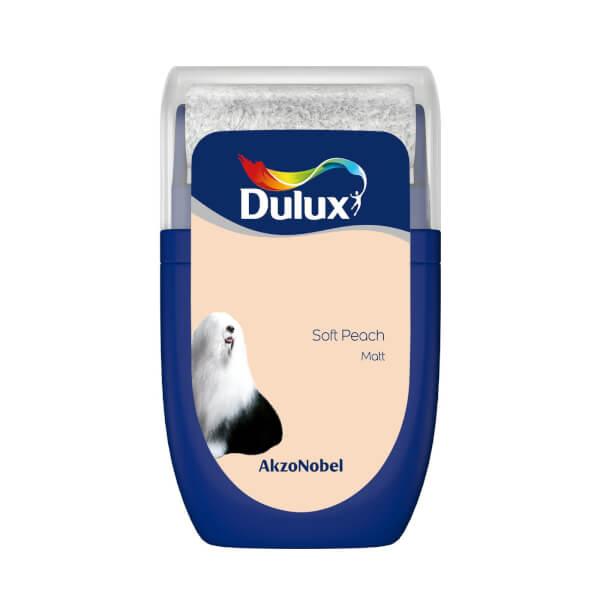 Dulux Standard Soft Peach Tester Paint - 30ml