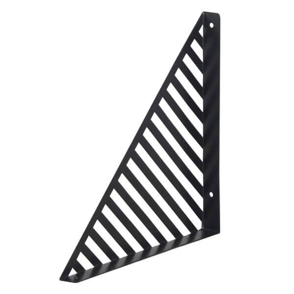 Lines Bracket - Black - 250x250mm