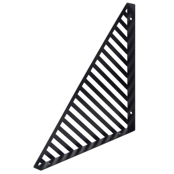 Lines Bracket - Black - 300x300mm