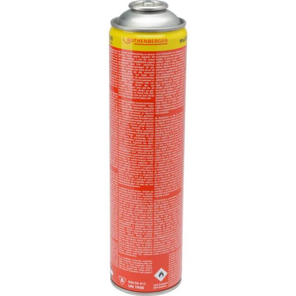 Rothenberger Disposable Propane/Butane Mix Gas 336g
